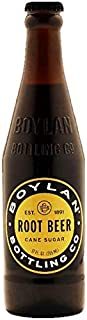 product image for Boylan Bottling Pure Cane Sugar Soda Pop, Root Beer, 12 oz Glass Bottles (Pack of 12)