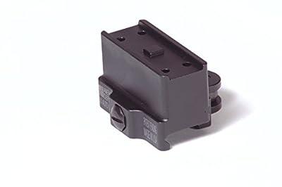 American Defense AD-T1-10 STD Riflescope Optic Mount, Black by American Defense Mfg