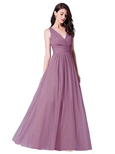 8efcf930459f93 Per Matrimonio 07369 A Cinghie Regolabili Damigella Ever D Vestito V Lungo  Da pretty D onore ...
