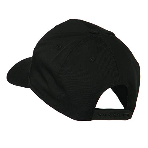 714 Orange County Area Code Embroidered Cap - Black OSFM ()