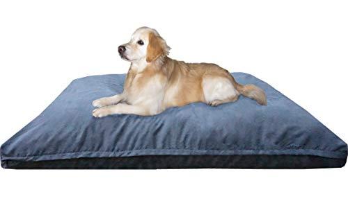Dogbed4less Jumbo Memory Foam Dog Bed