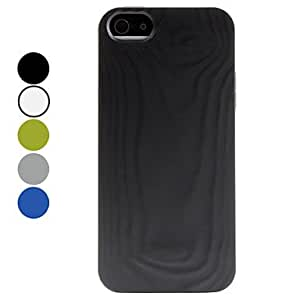 DD Simple Style Soft Case for iPhone 5/5S (Assorted Colors) , Black