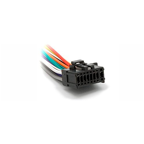Carav, cavo 15– 007 con connettore ISO per autoradio Pioneer DEH serie P (alcuni modelli), 16 pin (23 x 10 mm), adattatore per cavi autoradio stereo 15-007