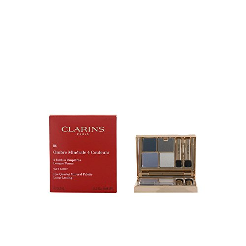 Clarins Eye Quartet Mineral Palette - # 04 Indigo 5.8g/0.2oz (Color For Quartet Eyes Clarins)