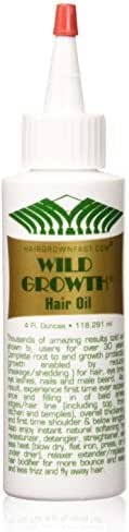 Wild Growth Hair Oil 4oz