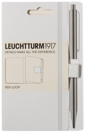 114 opinioni per Leuchtturm 1917- Anello laterale porta penna per agenda, supporto adesivo bianco