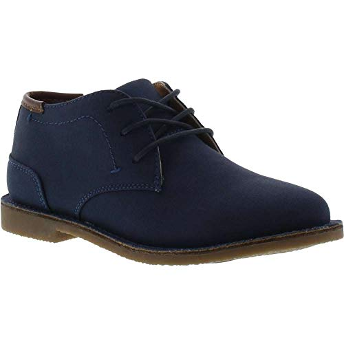 Kenneth Cole REACTION Boys' Real Deal 2 Chukka, Navy, 8.5 M US Toddler