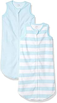 Amazon Essentials Boys 2-Pack Microfleece Baby Sleep Sack