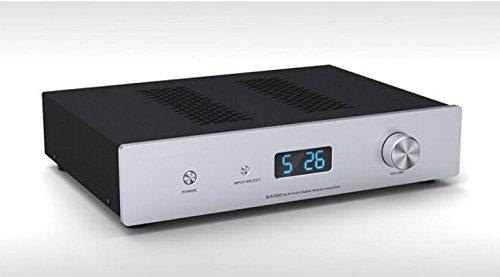 GOWE HIEND Remote Control Pure Digital Audio Amplifier Input Optical/I2S/AES/EBU/Coaxial RCA/BNC 100W+100W AC90-240V Review