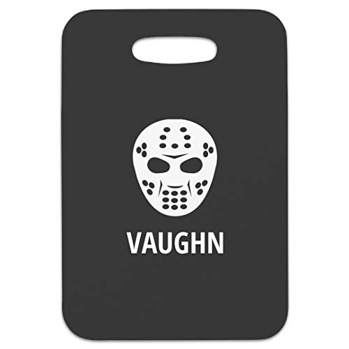 (Hockey Mask Vaughn Bag Tag: Rectangular Luggage Tag)