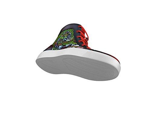 A Fuoco Alta Sneaker Fuoco Mano Personalizzabile 100 In Dipinta Gianmarco Pelle Dis E Made Tua La Italy Fantasia BzUwqSy