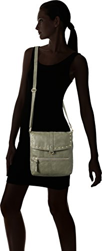 bandoulière Cross Dark Pcnadeen Sacs Body Leather Pieces Olive Vert Large qwRgFB7