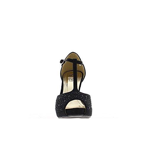 ChaussMoi - Zapatos de vestir de lona para mujer