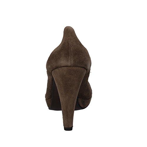 Calpierre - Zapatos de vestir de ante para mujer Beige beige