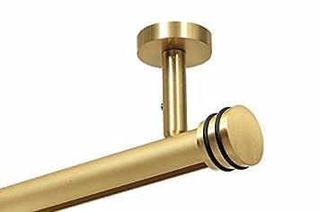Gardinenstange Modern gardineum hochwertige runde 20 mm gardinenstange gardinenleiste