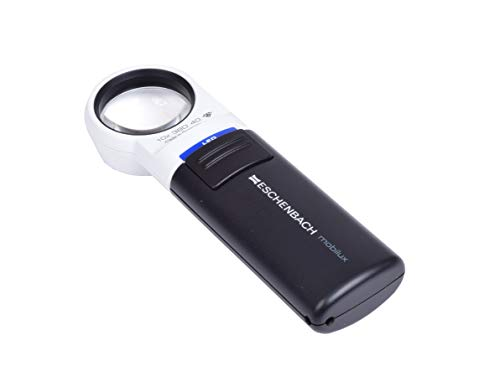 Hand Held LED Magnifier,10x