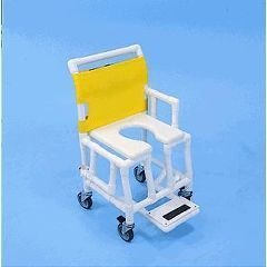 Shower Taxi Shower/Commode Chair - Yellow