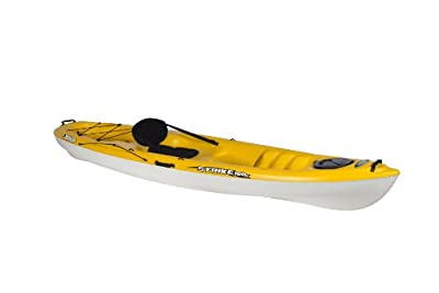 Pelican Strike 100X Yellow/White Kayak