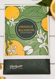 Floral Simplicity 6 Pack Orange Blossom Scented Sachets