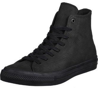 Converse Menns All Star Hero Chuck Ii Hi Sneaker Svart / Svart / Tyggis