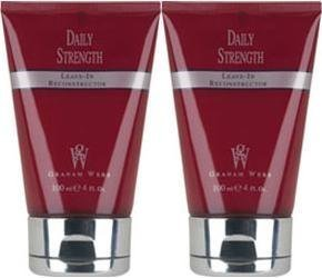 Graham Webb Daily Strength Leave-In Reconstructor, 4.0 Fl. Oz. / 100 mL. ea. (Pack of 2) (Webb Strength Graham Daily Strengthening)