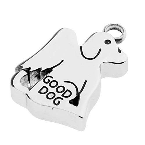- Dog Wing Stainless Steel Pendant Ash Urn Cremation Ashes Jewelry Keepsake Necklace Jewelry Crafting Key Chain Bracelet Pendants Accessories Best