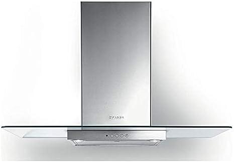Faber NICE - Campana extractora de pared (acero inoxidable y cristal, 90 cm): Amazon.es: Grandes electrodomésticos