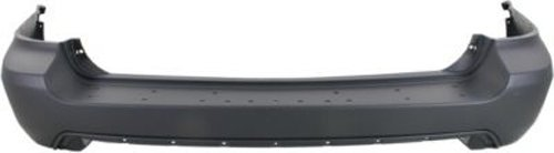 CPP Primed Rear Bumper Cover Replacement for 2004-2006 Acura MDX (Acura Mdx Rear Bumper)