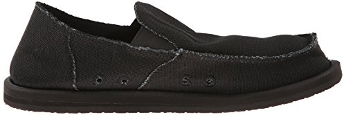 cheap release dates Sanuk Men's Vagabond Slip On Blackout low shipping cheap price cheap visa payment 0qLoMiKbN