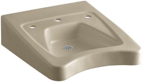 KOHLER K-12634-33 Morningside Wheelchair Bathroom Sink with 11-1/2