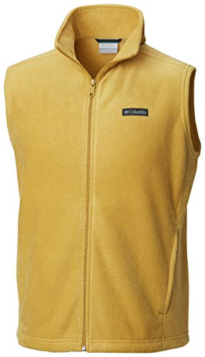 Columbia Men's Steens Mountain Full Zip Soft Fleece Vest, Pilsner, X-Large