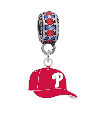 - Final Touch Gifts Philadelphia Phillies Ball Cap Charm