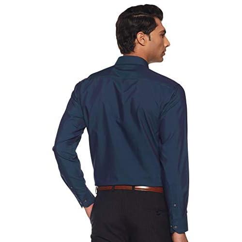 31QtiLpnJmL. SS500  - Amazon Brand - Symbol Men's Regular Fit Cotton Formal Shirt