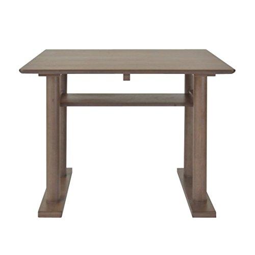 ミーテ ウォールナット材 85 ダイニングテーブル MITE DINING TABLE 85 (MBR) B079GPMRTG