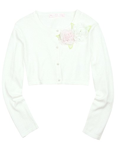 Biscotti Girls' Knit Cardigan Wedding Belles, Sizes 7-16 (M) by Biscotti