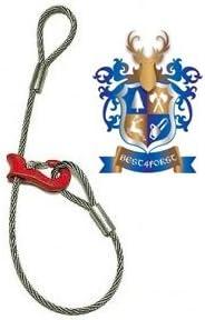 longueur 2/m r/ücke Corde avec crochets coulissants de diam/ètre de corde 10/mm