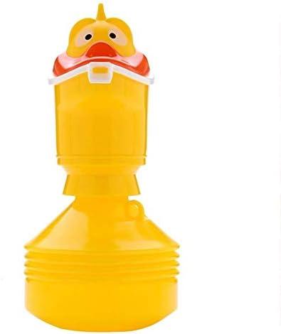 便器 アウトドア/旅行/キャンプ/渋滞のための適切な便器子供の伸縮便器、PP素材、大口径漏れ防止、ポータブル便器、 ユニセックス便器 (Color : Yellow)