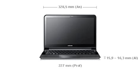 Samsung NP900X3A-B01ES - Ordenador portátil 13.3 pulgadas (core i5, 4 GB de