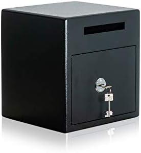 caja fuerte de depósito | Caja fuerte tipo buzón | caja fuerte con ranura | cerradura con llave | Nivel de seguridad A: Amazon.es: Bricolaje y herramientas