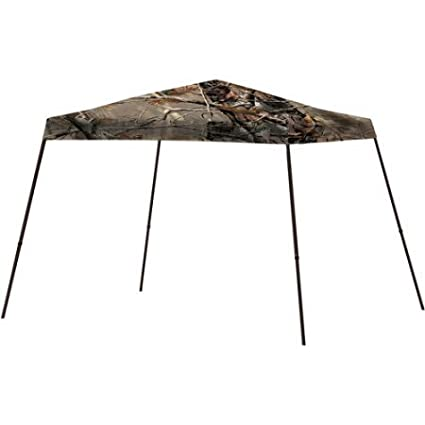 Realtree 10' x 10 Canopy Offers 64 Sq. Feet of Shade, 8'2 center height with 50 Plux UV Protection, Easy To Assemble - Camo AC1011