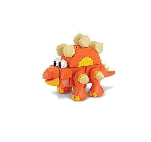 Velcro Kids, VELCRO Brand BLOCKS | STEM Toy | Dinosaur Building Blocks, Lightweight Foam | 29 Piece, Stegosaurus, Age 3+ [Packaging May Vary]