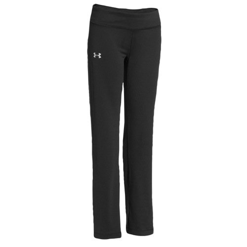 Under Armour Kids Girls Rally Pant Black/Silver, MD (10-12 Big Kids) X One Size by Under Armour