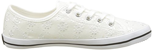 Pepe Blanc White Femme Sneakers Basses Gery Jeans Anglaise rf1rCq