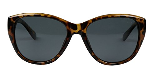 Basik Eyewear - Vintage Cat Eye POLARIZED Classic Fashion 100% UV Sunglasses (Tortoise Frame, - Usa Sunglasses Designer