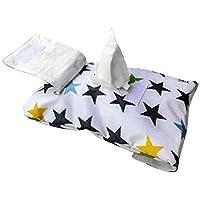 My Bags- Portatoallitas Estrellas negras- Danielstore