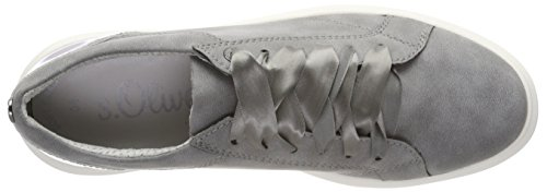 oliver Femme Basses 23627 Comb graphite Sneakers S Gris dzUI5twIqB