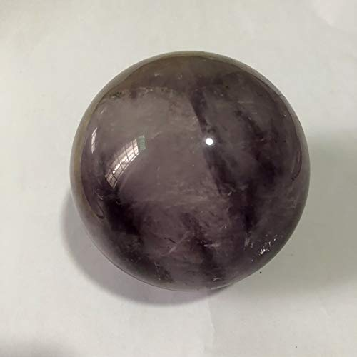 Realgem-Natural Amethyst Quartz Crystal Sphere Ball Healing Stone 50mm + Stand