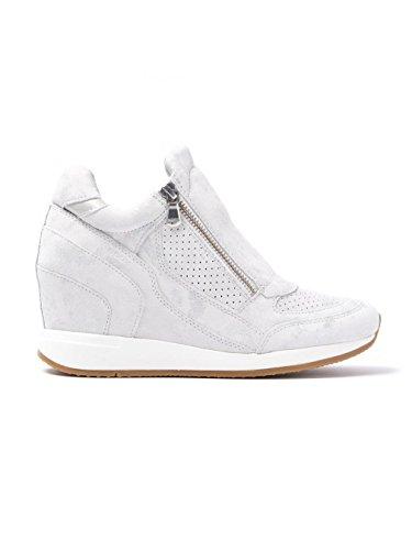 Calzado deportivo para mujer, color Blanco , marca GEOX, modelo Calzado Deportivo Para Mujer GEOX D NYDAME Blanco blancuzco