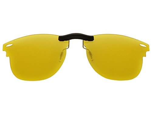 Custom Fit Polarized CLIP-ON Sunglasses For Ray-Ban RB3016 51X21 HD - Affiliate Sunglasses