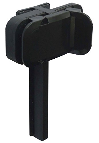 """Side Clip Mount - Side Mount Clip, Dual & Triple Monitor Experience, Serves As A Tablet Stand & Phone Holder. """"With Re-Engineered Grip For Better Positioning"""", The Coolest Gadget For Netflix, Face time, Prime"""